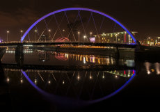 Finnieston night reflections 0010