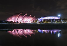 Finnieston night reflections 0013