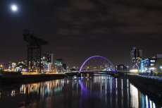Finnieston night reflections 0020
