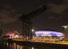 Finnieston night reflections 0027-28