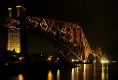 Forth bridge night0031