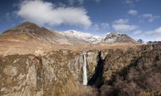 Glen Brittle falls panorama0025-29