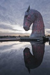 Kelpies evening0005