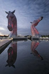 Kelpies evening0010