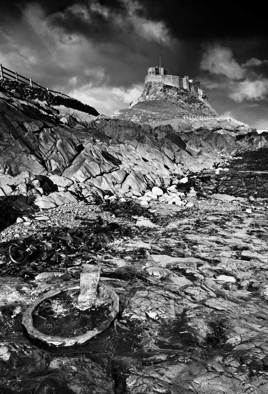 Lindisfarne castle0002-3b&w