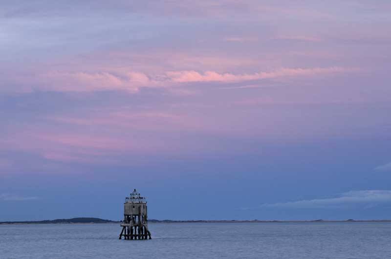 Nightfall on the Pile lighthouse021