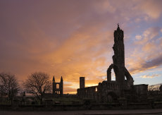 St Andrews cathedral sunrise0028-31