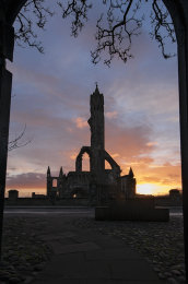 St Andrews cathedral sunrise0037