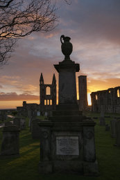 St Andrews cathedral sunrise0041