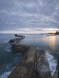 St Monans beakwater sunset0049-51