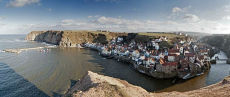 Staithes panorama