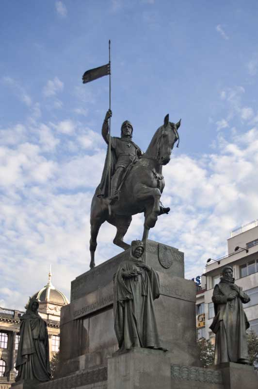 st vaclav statue0151