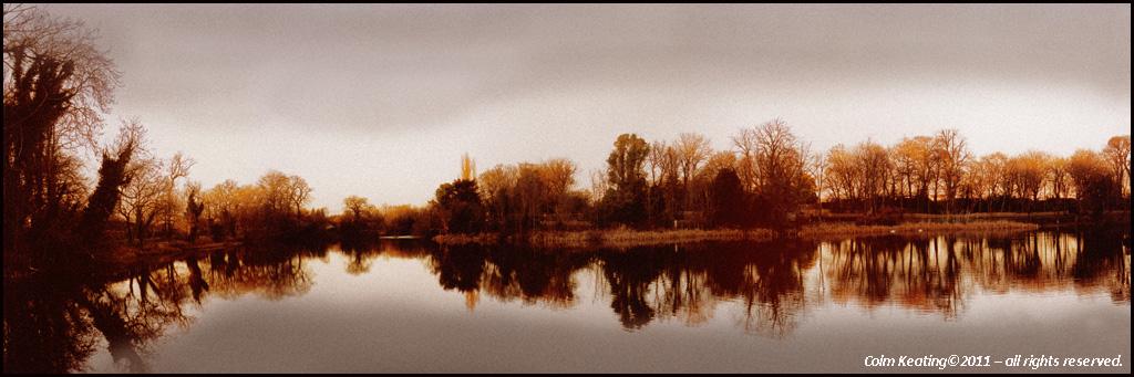 Lake, at Africian Plains - Dublin Zoo.
