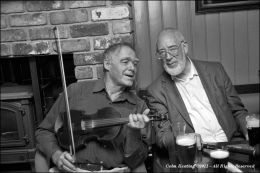 Antóin MacGabhann & Patsy Hanly, in Jason Hanly's