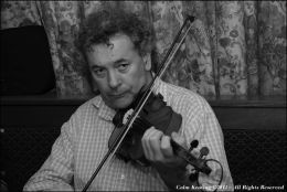 Antaine O'Faracháin, Fiddler & Singer, at Féile Frank McGann
