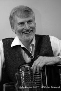 Charlie Harris at Féile Frank McGann 2010.