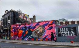 George (Bernard) Shaw Bar and Mural.