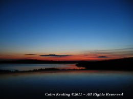 Blessington Lake at Sunset