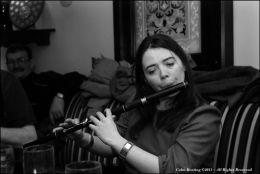 Emer Maycock - Flute Player, at Féile Frank McGann 2009.