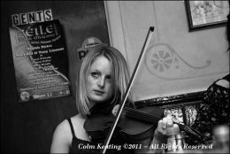 Clíodhna Ní Ruairc, at Féile Frank McGann, 2009