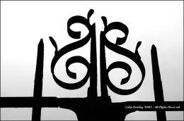 Decorative Gates at Strokestown House & Gardens.