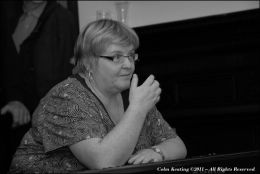 Geraldine Cotter - Whistle & Piano Player, at Féile Frank McGann 2009