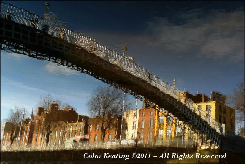 The Ha'penny Bridge, Dublin City