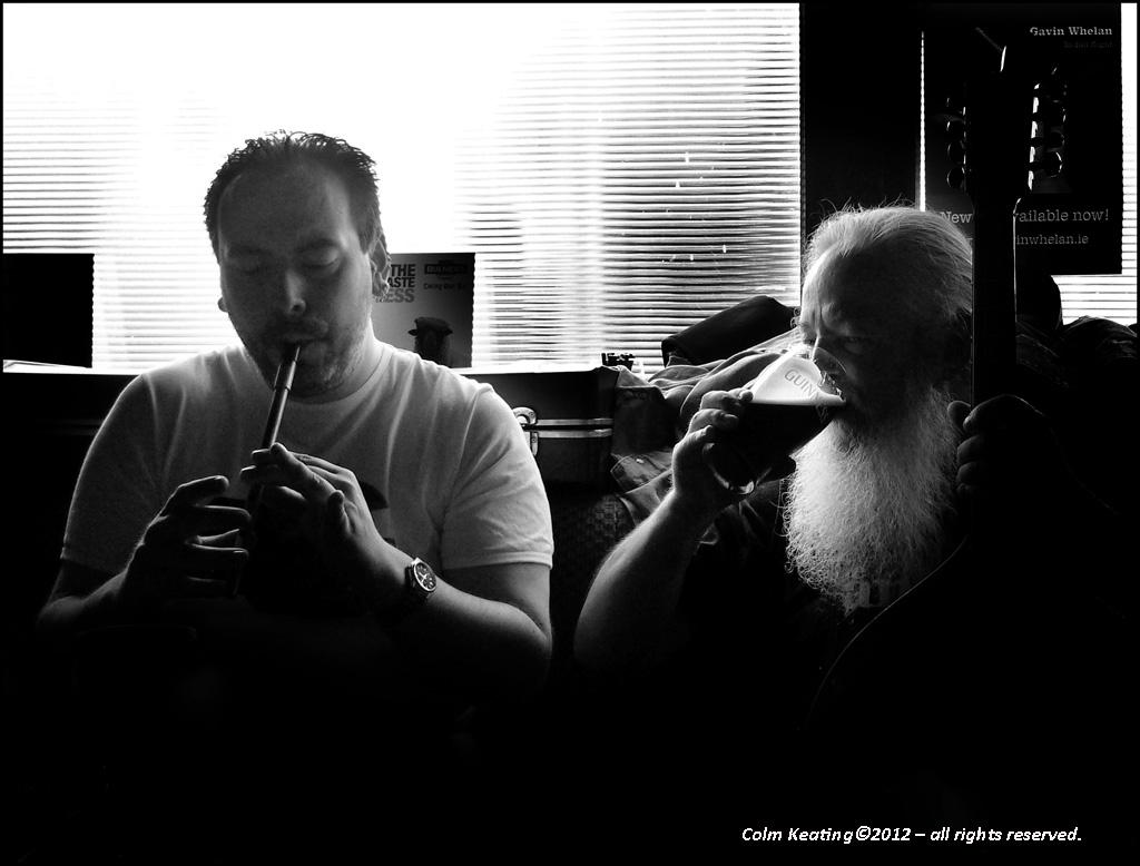 Father and Son...Gavin & Dermot Whelan