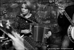 Marianne Knight, playing in the Thomas Ashe Bar