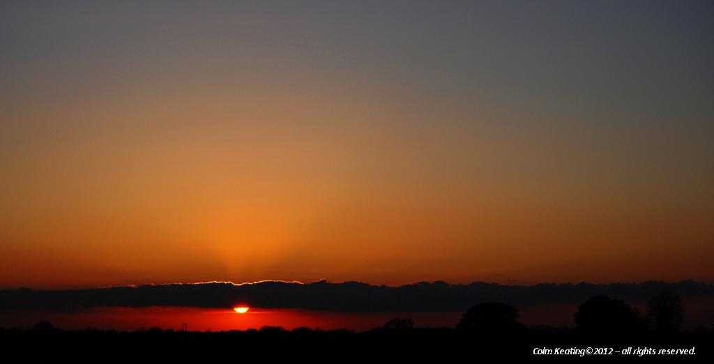Rathangan at Sunset