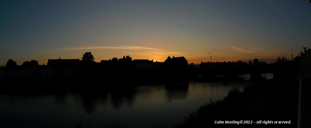 near Graiguecullen Bridge, at Carlow Town