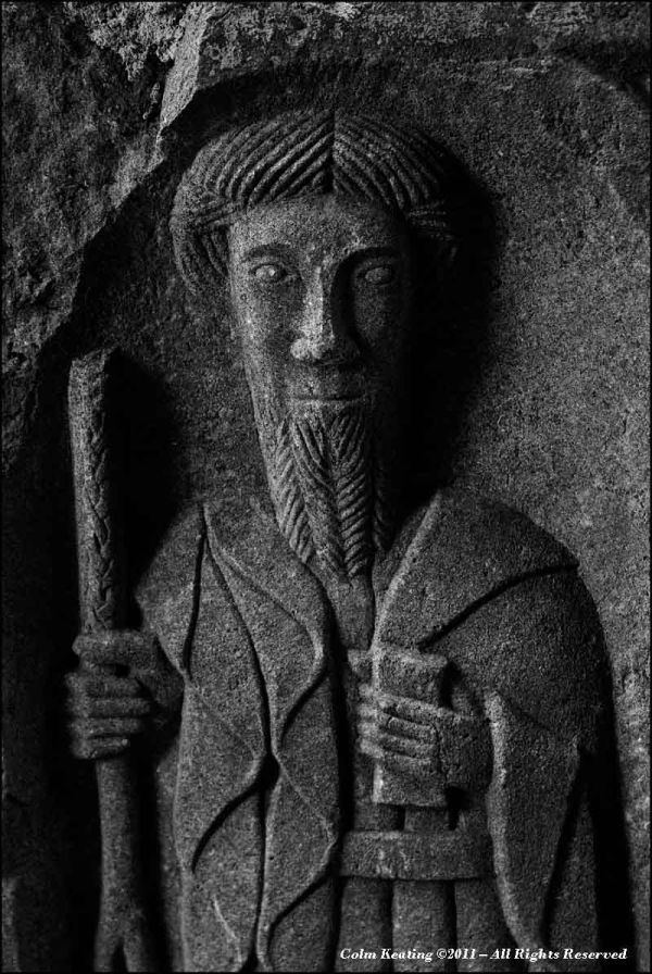 Stone Sculpture at Jerpoint Abbey, Kilkenny