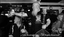 Tony Kilkenny & Dermot Whelan, at the Belgard Inn