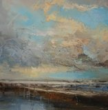 'Lost in the Horizon' 60x60cm