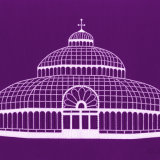The Palm House, Liverpool (purple)