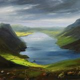 Changing Skies over Crummock Water