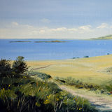 Summer Pastures By The Shore