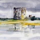 Wet Day at Threave