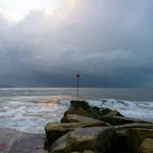 Mudeford Beach.