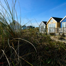Mudeford Beach Huts.