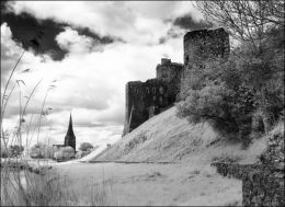 Kidwelly Castle. Carmarthenshire