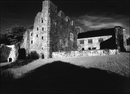 Oxwich Castle. Gower