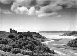 Pennard Castle. Gower