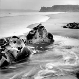 Pobbles Bay. Gower