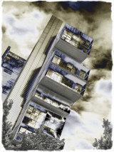 Cubist building.