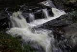 A small section of the falls on the Clare River