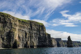 A nice sky over The Cliffs of Moher