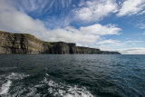 A panoramic view of the cliffs