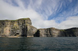 Another view of the cliffs with a nice cloud formation