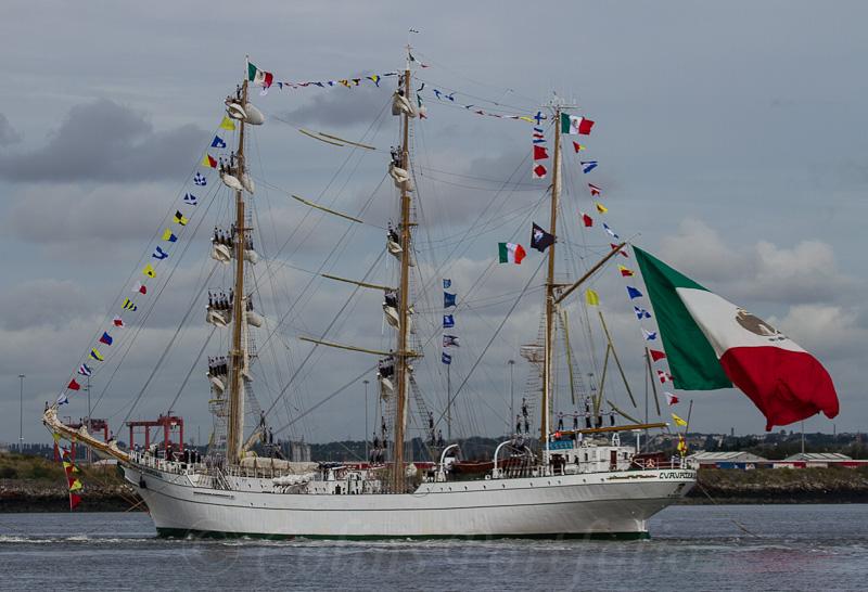 Mexican Navy tall ship 'Cuauhtemoc'